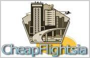 Cheapflightsia is the online search results orientated website tool which will help you to compare cheap flights tickets to most international places and to help find popular cheap holidays for individuals familys and businesses. The flights results will point you to websites which will book airline tickets for online flights worldwide holiday destinations around the different continents which are popular with holiday makers from all over! - Cheapflightsia logo